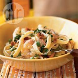 Romige champignonsaus voor pasta recept