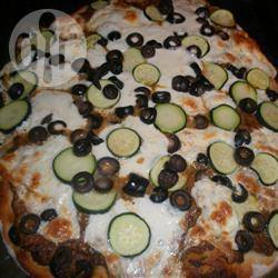 Italiaanse pesto pizza recept
