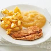 Gegrilde kipfilet met appelmoes recept