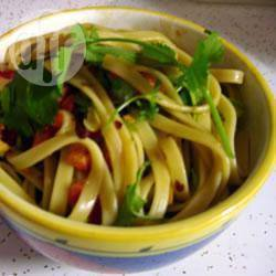 Chinese pikante pastasalade recept