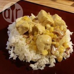 Romige kipschotel met maïs recept