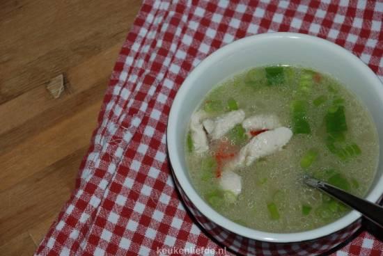Tom kha kai (thaise kippensoep) recept