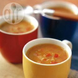 Rode-linzensoep recept
