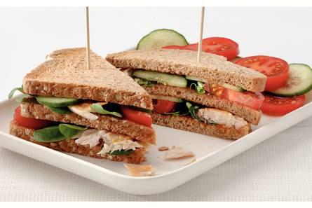 Sandwiches met makreel