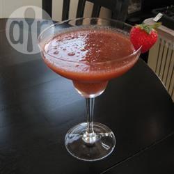 Aardbeien-basilicum margarita recept
