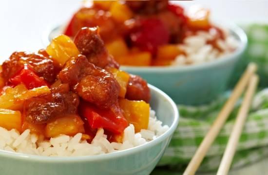 Pria waan kai, zoetzure kip met ananas recept