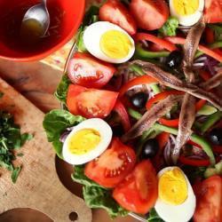 Echte salade niçoise recept