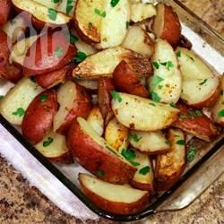Aardappels met peterselie uit de oven recept