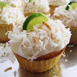 Cupcakes met limoen en kokos recept