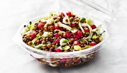 Power salade met linzen recept