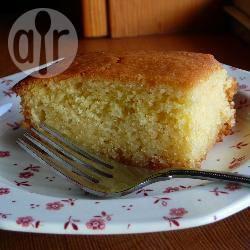 Cake van griesmeel met sinaasappelsmaak recept