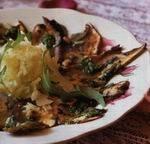 Carpaccio van gemarineerde portobello en venkel recept ...