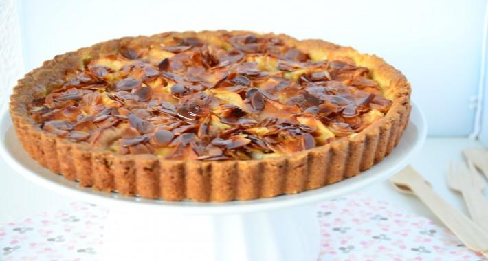 Lekker recept voor appeltaart met amandelkrokant