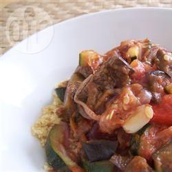 Gegrilde groenten met couscous recept