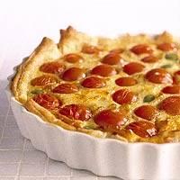 Kaastaart met olijf & tomaat recept