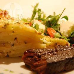 Aardappeltaart (tarte au pomme du terre) recept