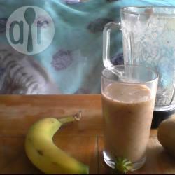 Banaan/kiwi/aardbei smoothie recept