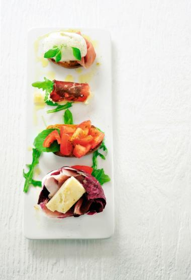 Recept 'antipasti'