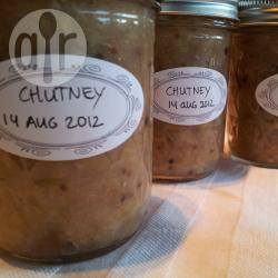 Chutney met appel en rabarber recept