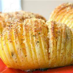 Aardappels op hasselback wijze recept