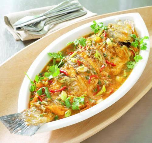 Vis op sichuan-wijze recept