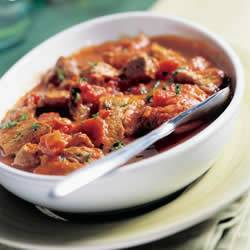 Gemarineerde hamlappen met provencaalse tomatensaus recept ...