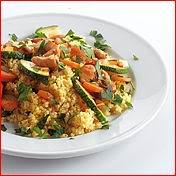 Couscous met kip en groenten recept