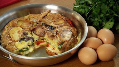 Recept 'tortilla de patatas'