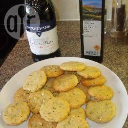 Parmezaanse koekjes recept