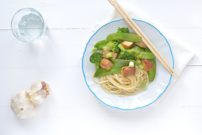 Fresh & easy: tofu ketjap
