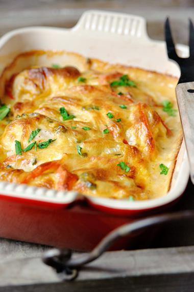 Recept 'pittige kip met jalapeno en cheddar'