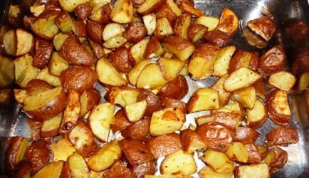 Rozemarijn aardappeltjes uit de oven recept