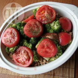 Ovenschotel met broccoli en kip recept