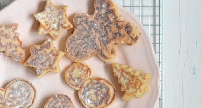 Kidsproof: christmas pancakes