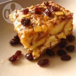 Gebakken brood (wentelteefjes) met appel en rozijnen recept ...