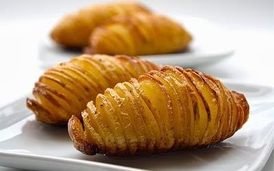 Hasselbacks potatis (zweedse hasselback aardappelen recept ...