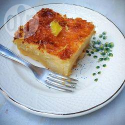 Lemonopita (griekse citroencake van filodeeg) recept
