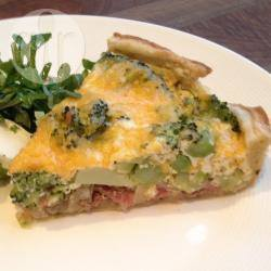 Quiche met broccoli recept