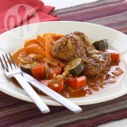 Ras-el-hanout kip recept