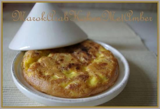 Aardappel/ui tortilla recept