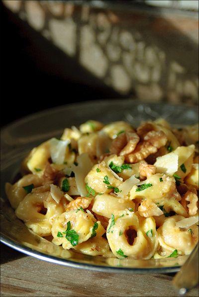 saus voor tortellini met spinazie