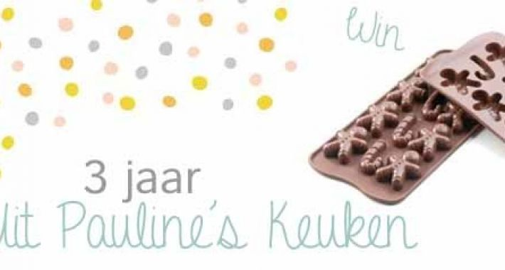 Winnen siliconen chocolade mal van teitloos