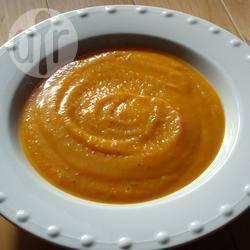 Pompoensoep met gember recept