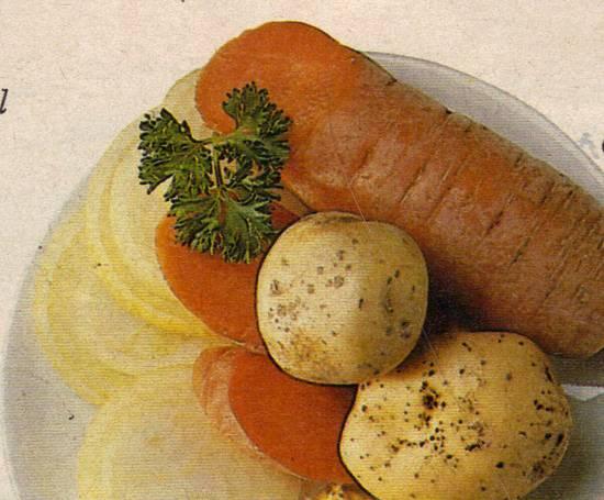 Gehakt- hutspottaart recept