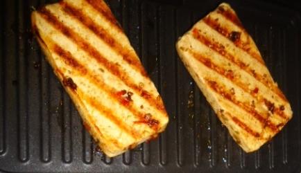 Tofu marinade voor op bbq of grill recept