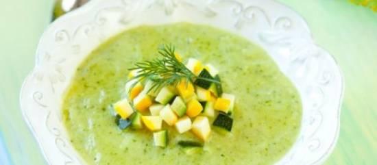 Prei courgette soep recept