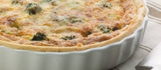 Broccoli quiche recept