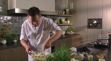 Recept 'waldorfsalade'