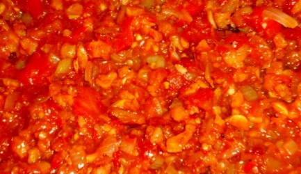 Surinaams garnalen sambal recept