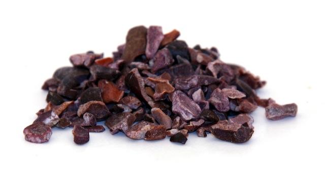 Superfoods chia zaad, goji bessen en rauwe cacao